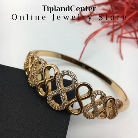دستبند زنانه بی نهایت برند ژوپینگ